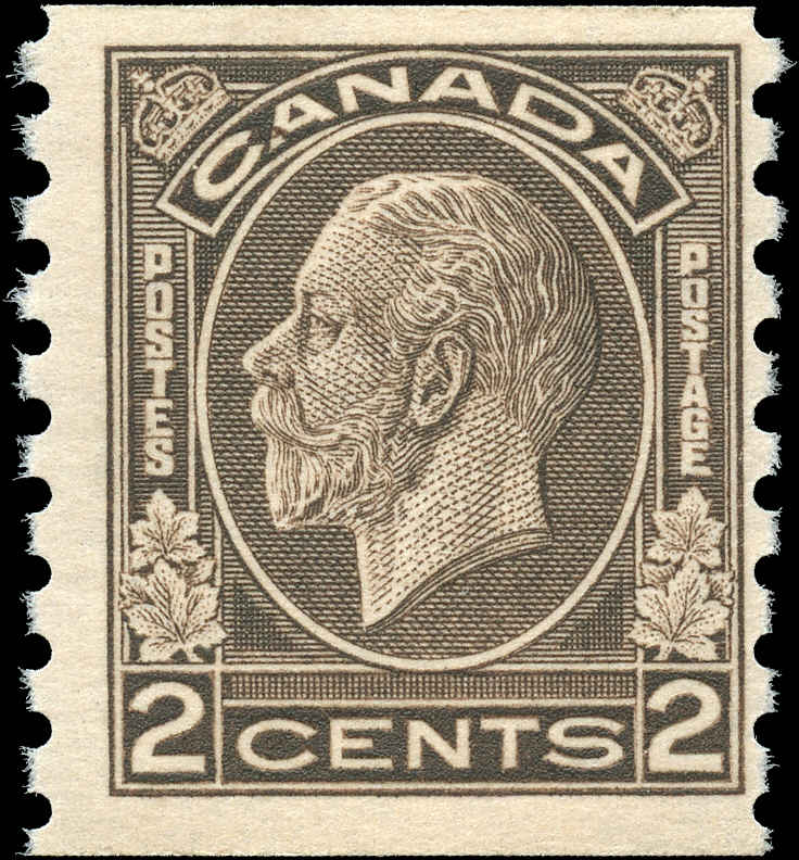 Canada #206, Coil Medallion Issue, F+, MNH