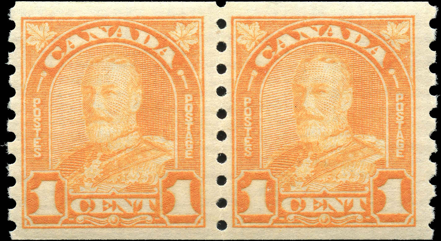 Canada #178, Coil Arch/Leaf Issue, F-VF, MNH