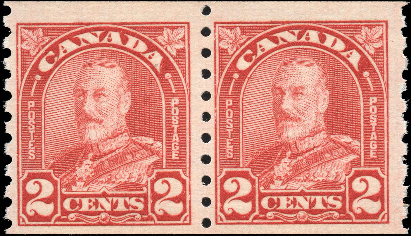 Canada #181, Coil Arch/Leaf Issue, F+, MNH