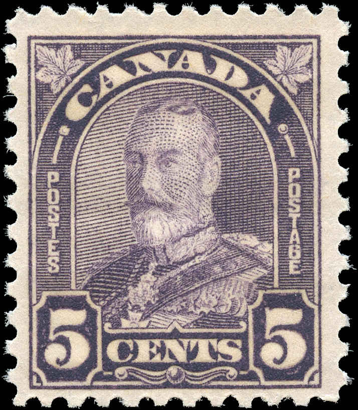 Canada #169, Arch/Leaf Issue, F+, MNH