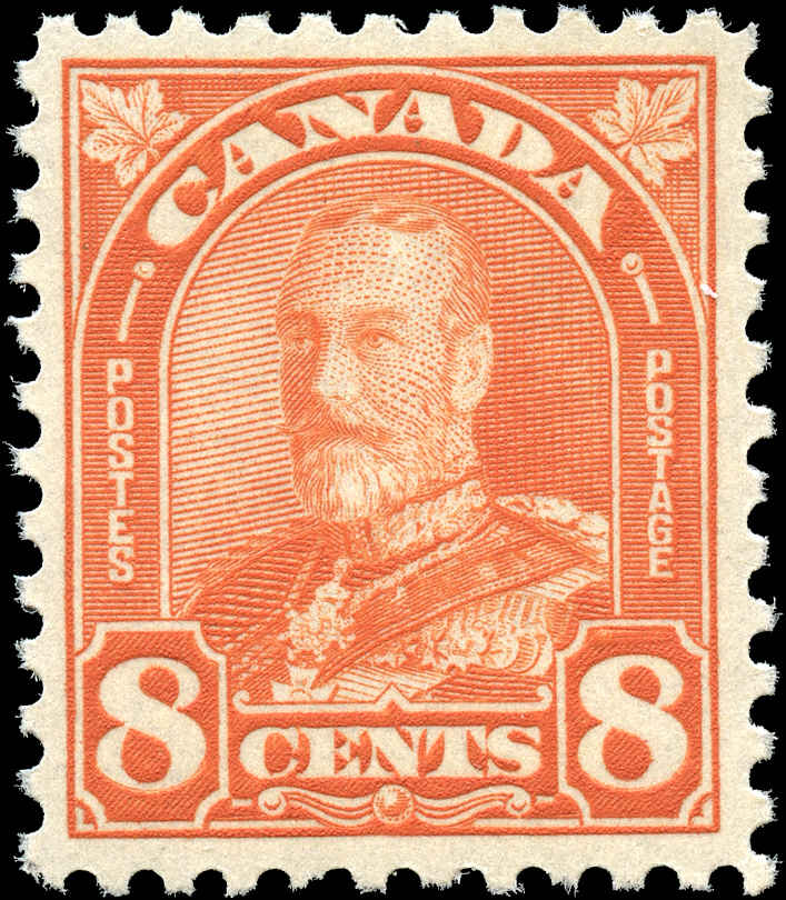 Canada #172, Arch/Leaf Issue, VF, MNH