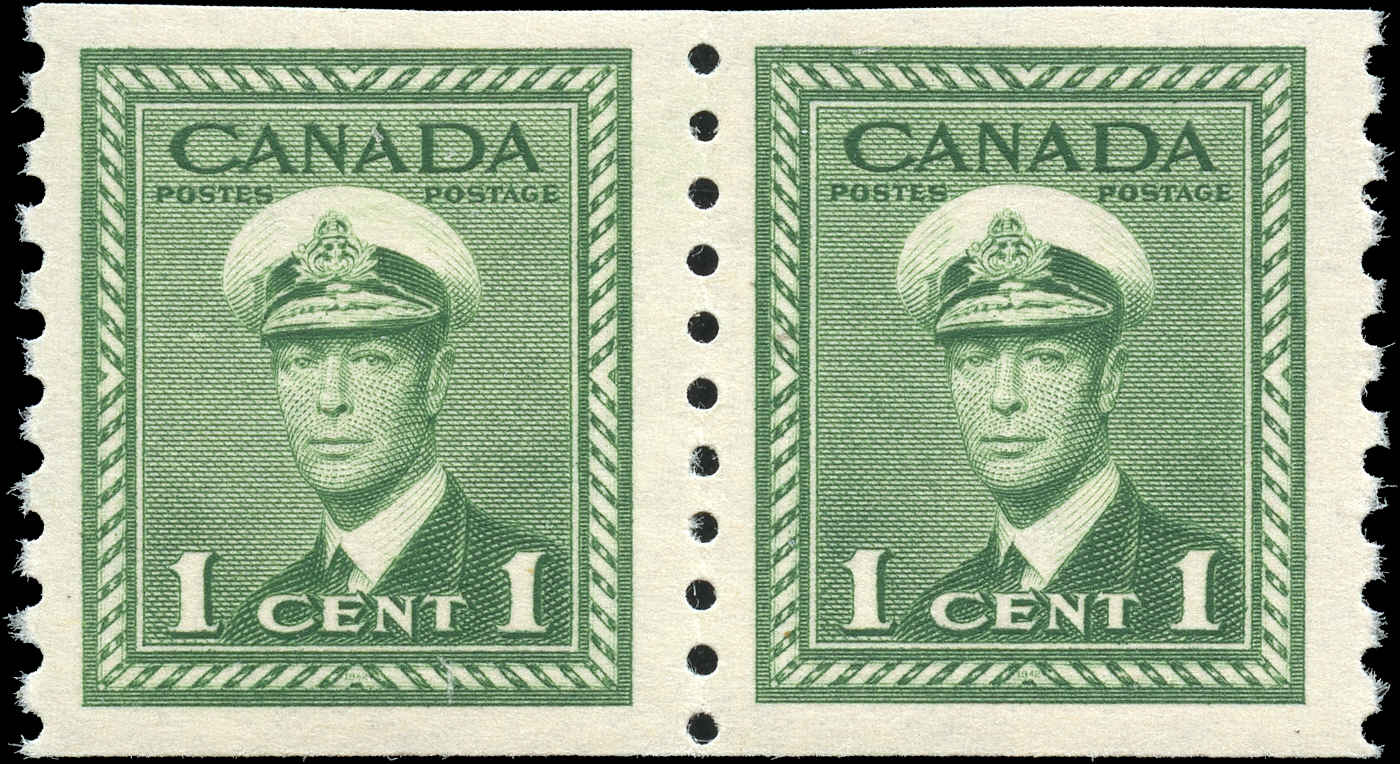 Canada #278, War Issue Coil, F-VF, MNH