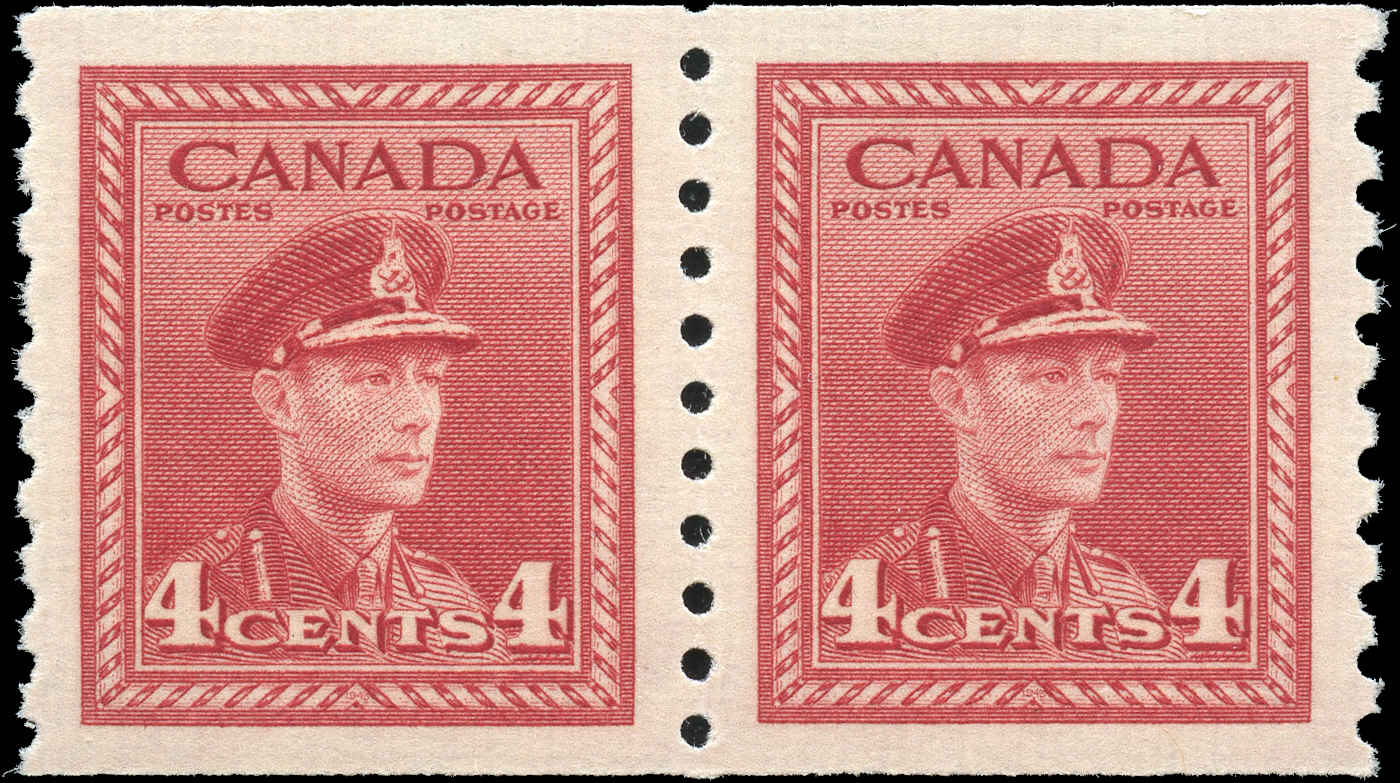 Canada #281, War Issue Coil, VF, MNH