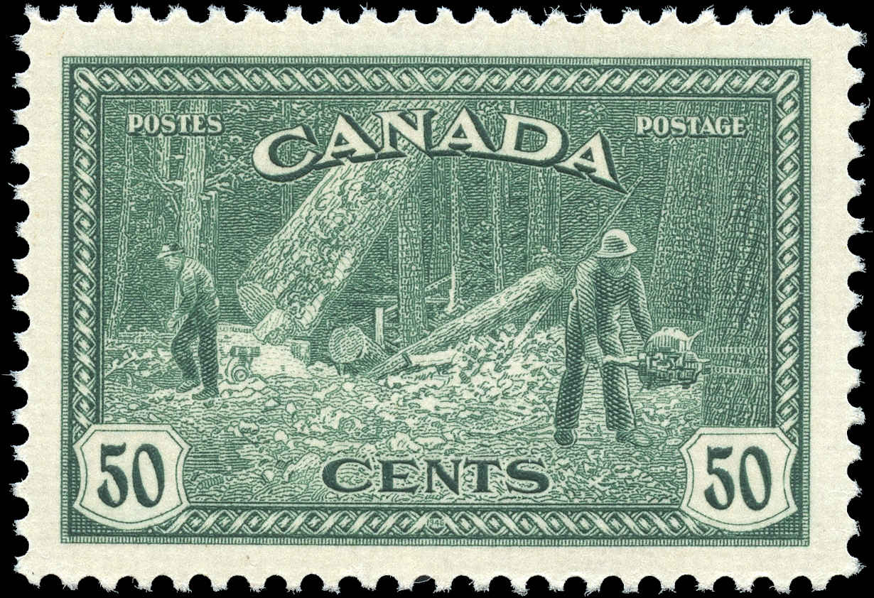 Canada #272, Peace Issue, VF, MNH