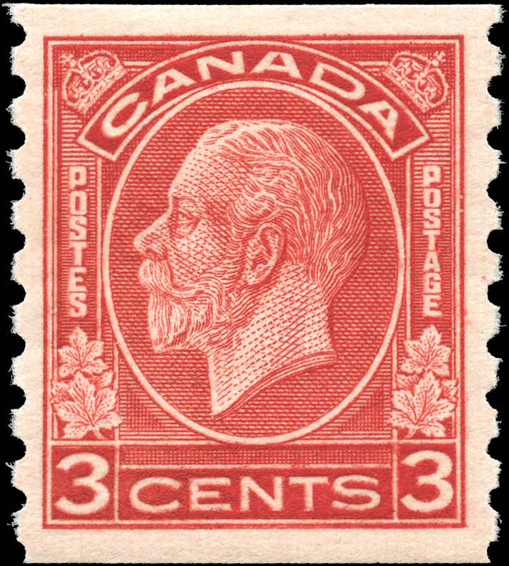 Canada #207, Coil Medallion Issue, VF, MH