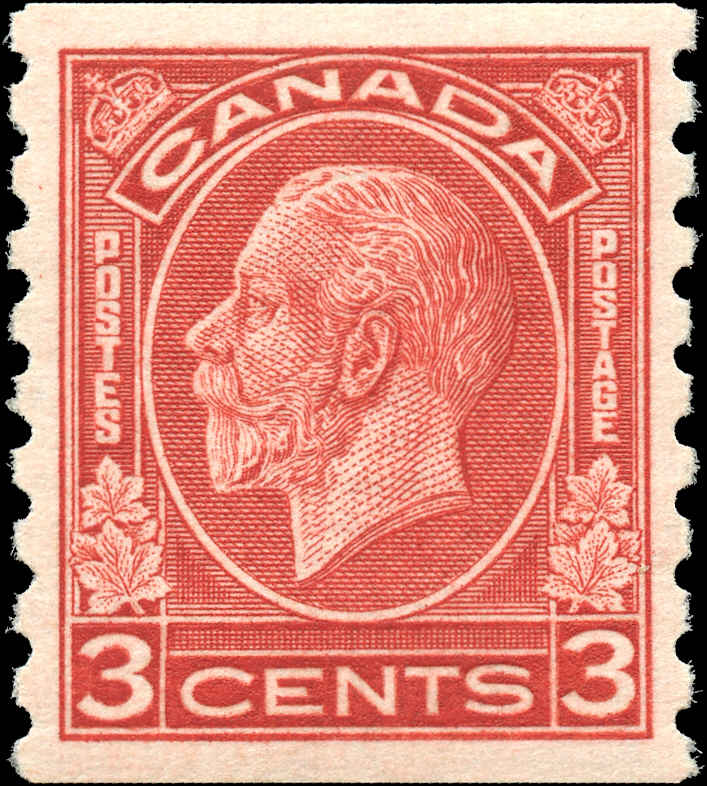 Canada #207, Coil Medallion Issue, VF, MNH