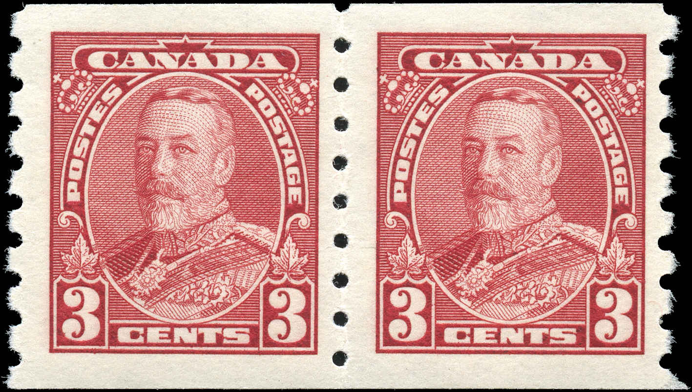 Canada #230, Coil Pictorial Issue, F-VF, MH