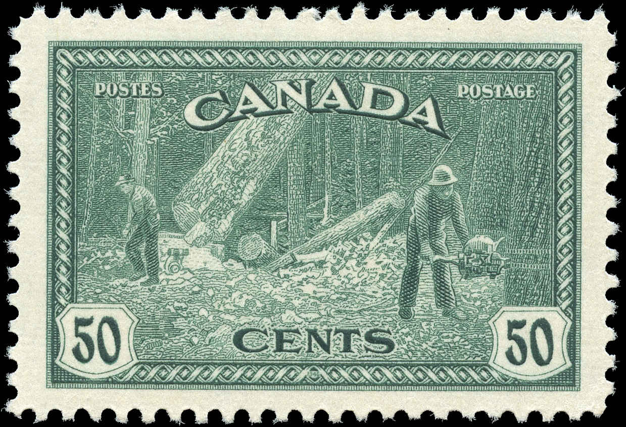 Canada #272, Peace Issue, VF+, MNH