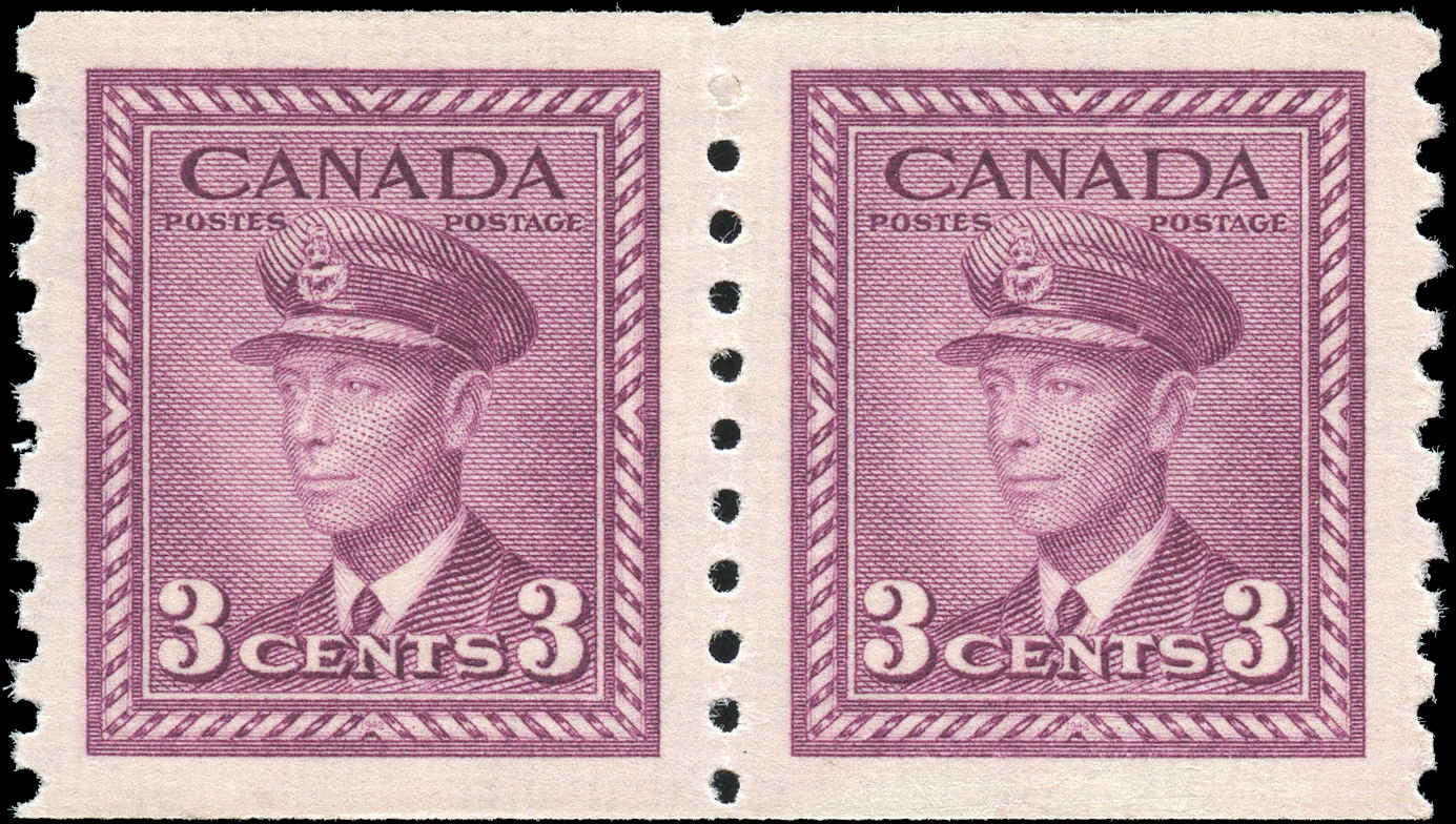 Canada #266, War Issue Coil, VF, MNH