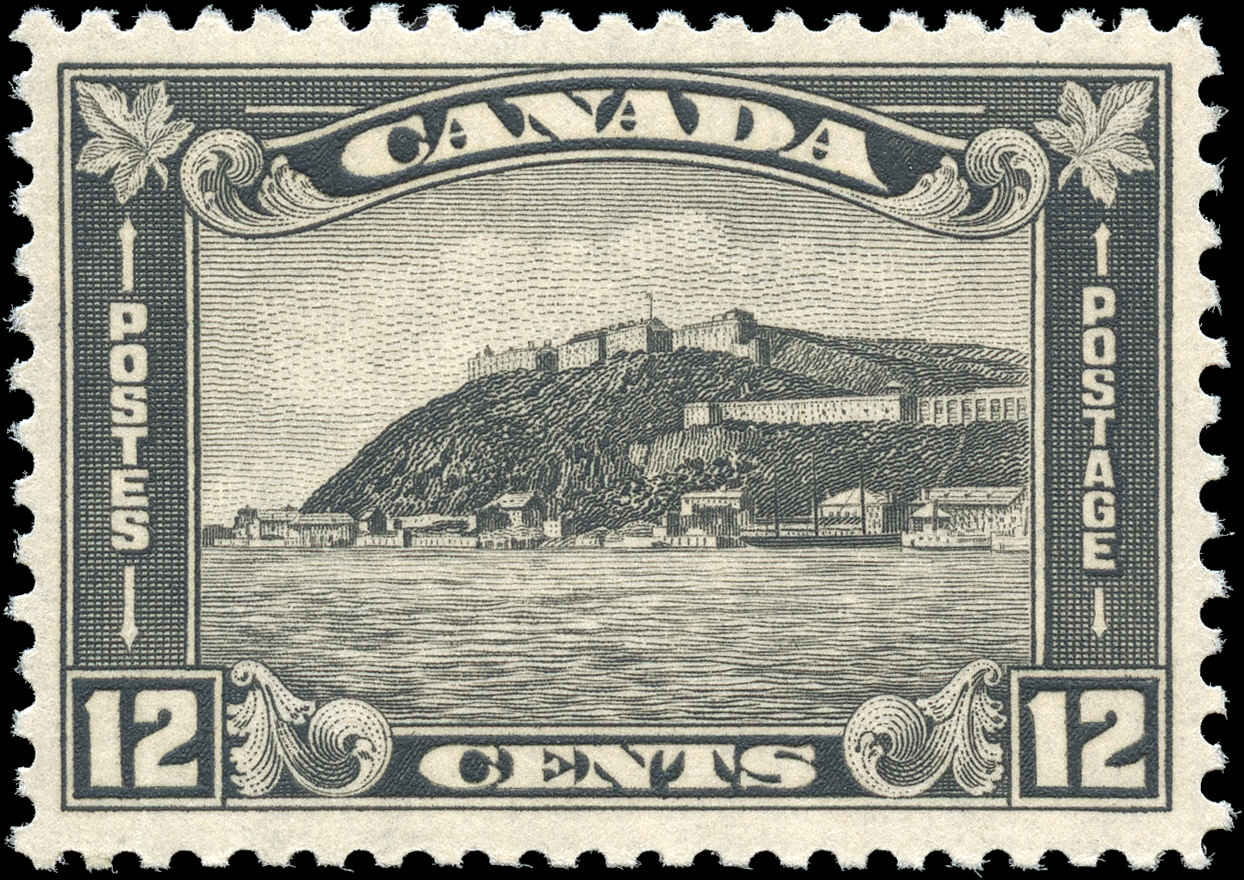 Canada #174, Arch/Leaf Issue, VF, MH