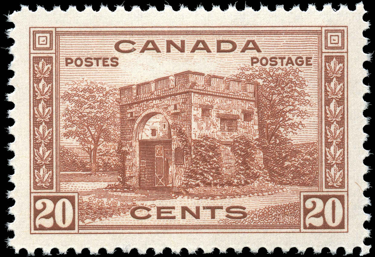 Canada #243, 1938 Pictorial Issue, VF+, MNH