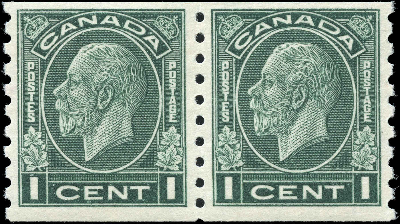 Canada #205, Coil Medallion Issue, F+, MH