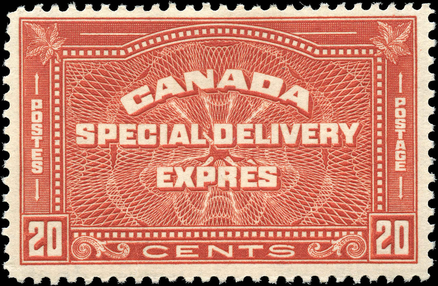 Canada #E5, Special Delivery Issue, F+, MLH