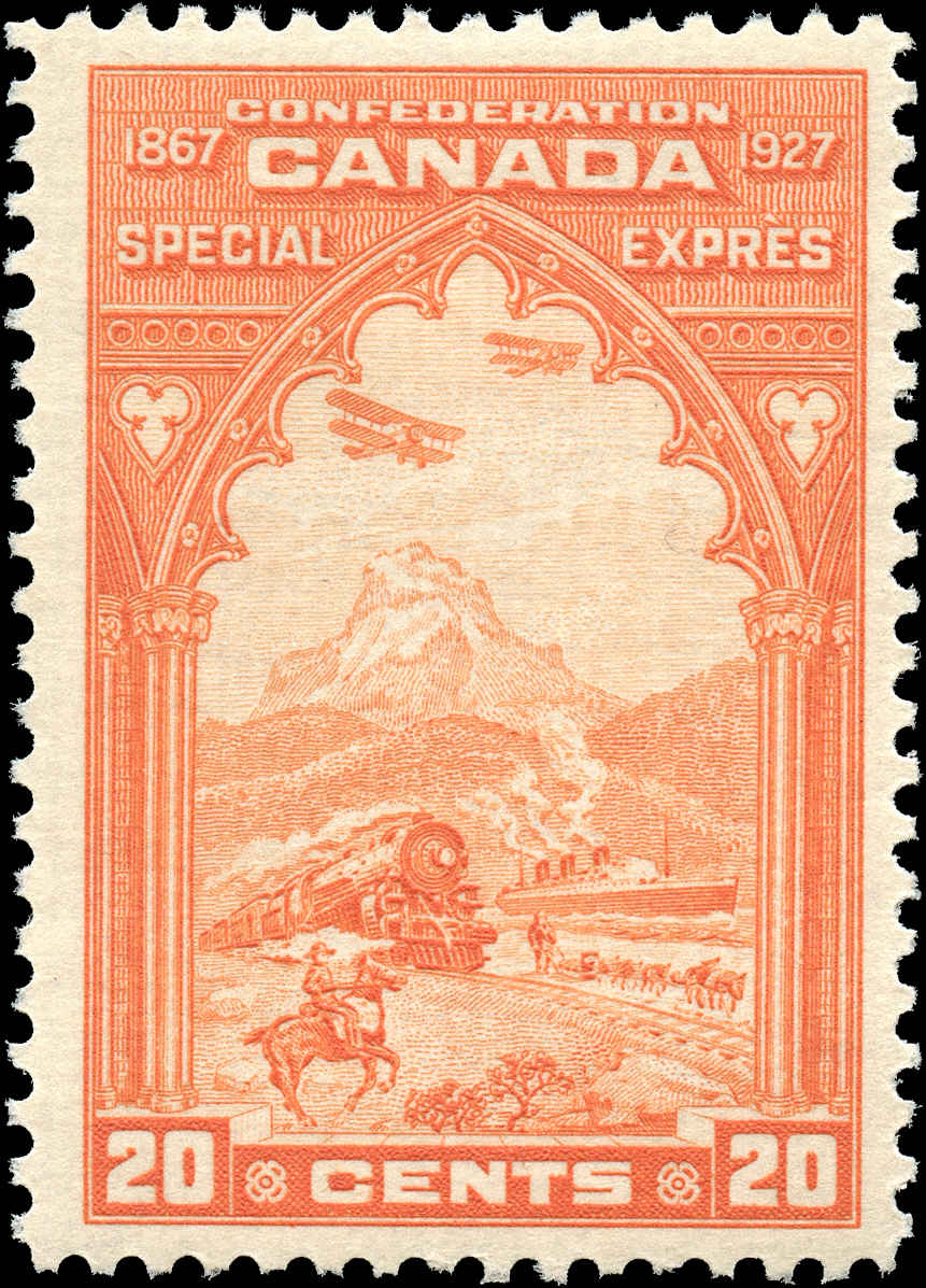 Canada #E3, Special Delivery Issue, F-VF, MLH