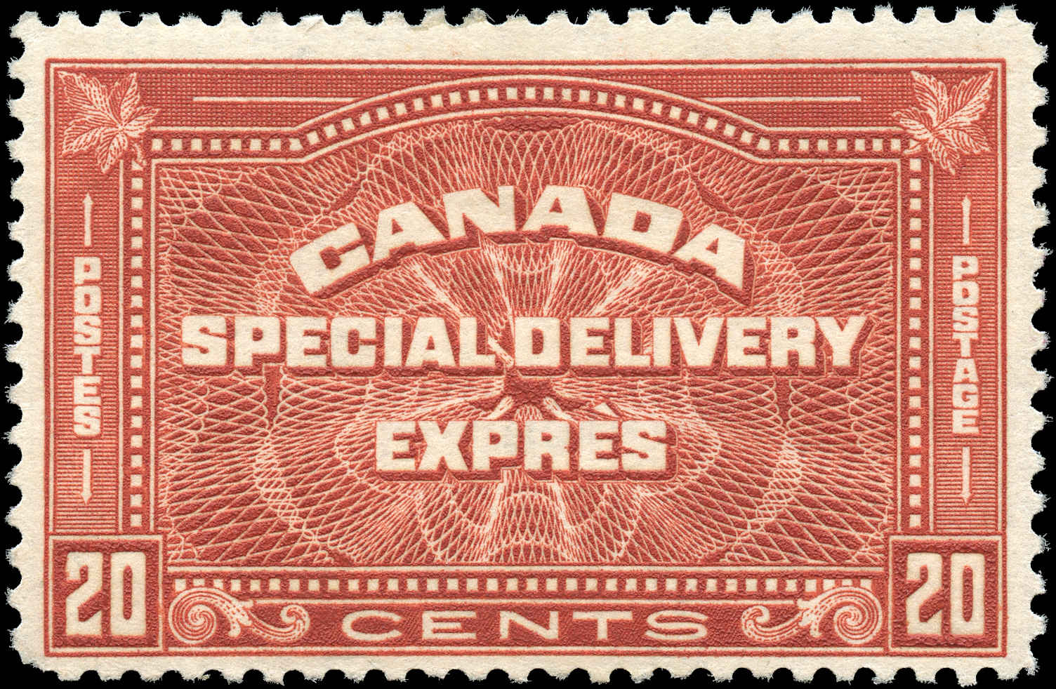 Canada #E5, Special Delivery Issue, F+, MH
