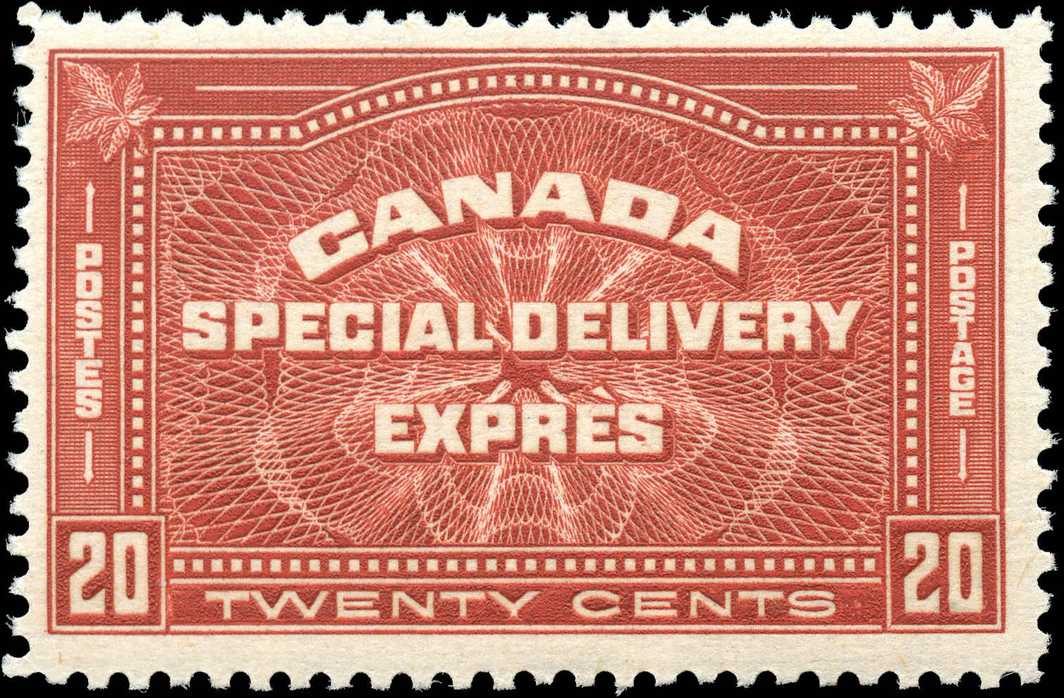 Canada #E4, Special Delivery Issue, F+, MNH