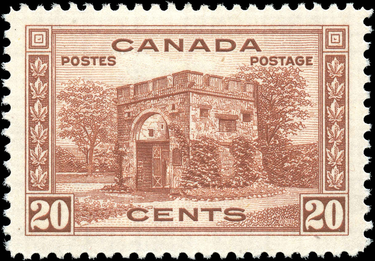 Canada #243, 1938 Pictorial Issue, VF, MH
