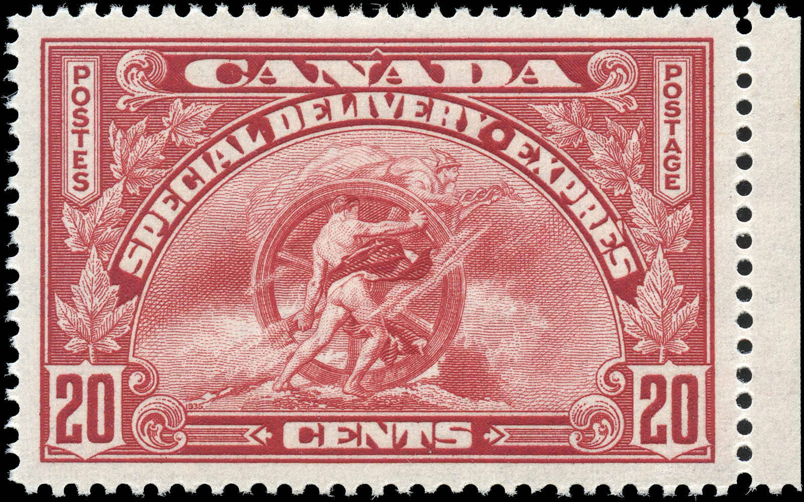 Canada #E6, Special Delivery Issue, VF, MH