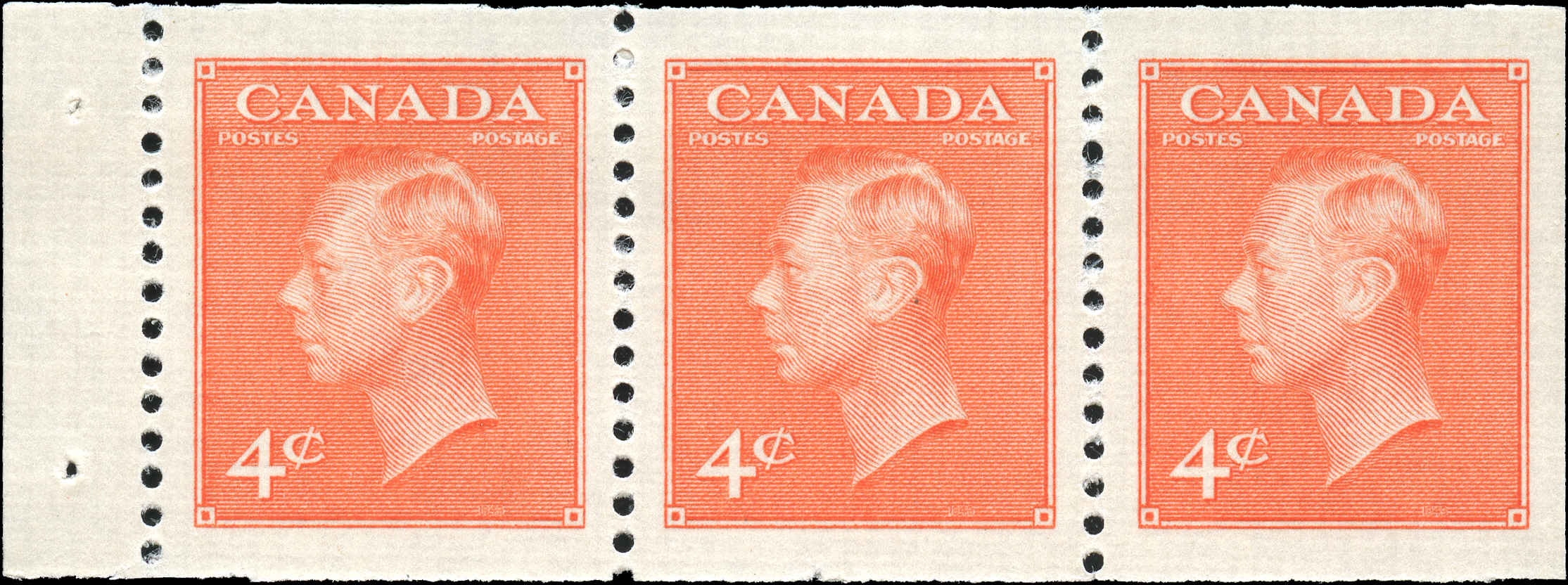 Canada #306a, Coil Pste-Pstge Issue, VF, M