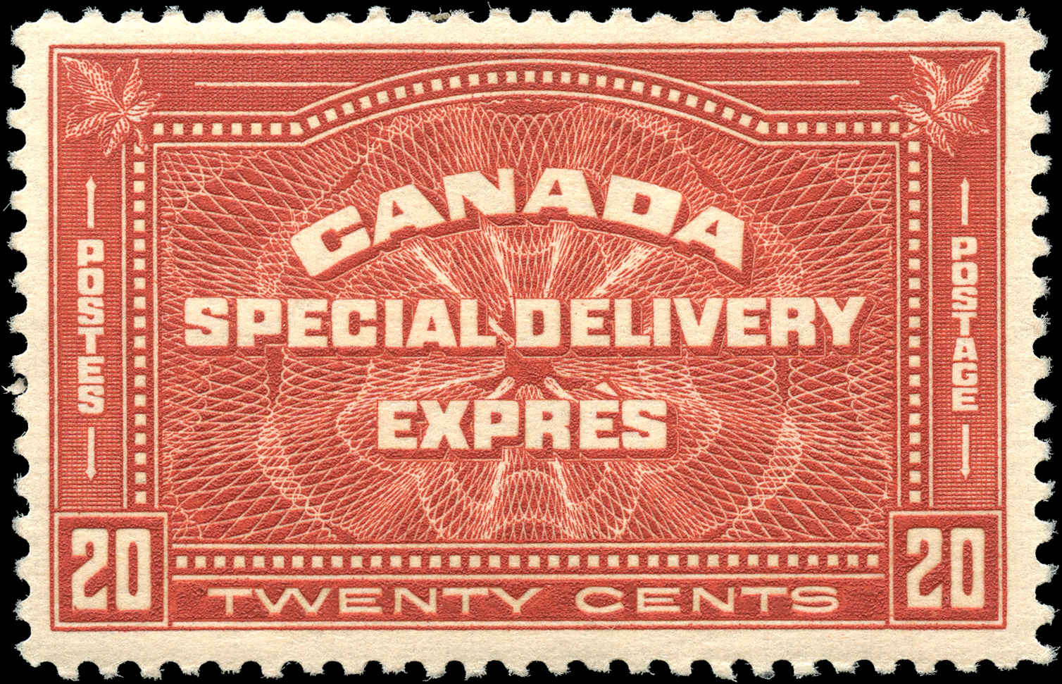 Canada #E4, Special Delivery Issue, F+, MH