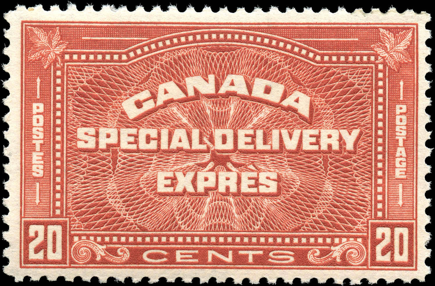Canada #E5, Special Delivery Issue, F-VF, MNH