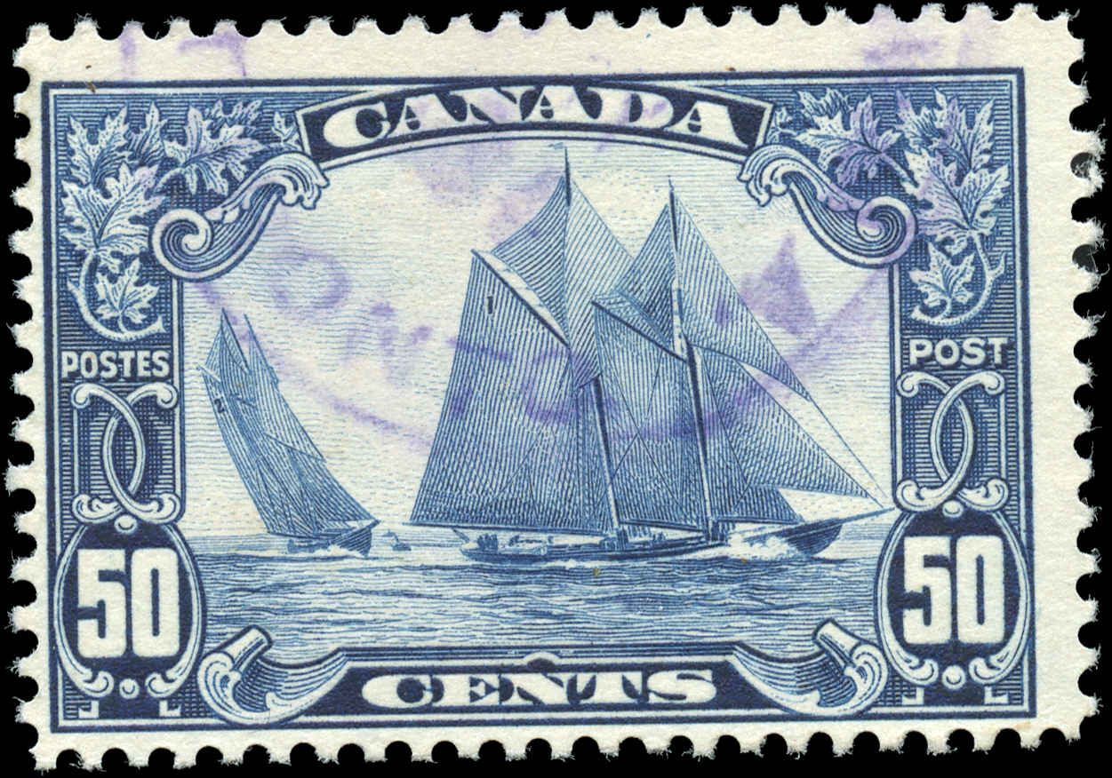 Canada #158, Scroll Issue, F+, Used
