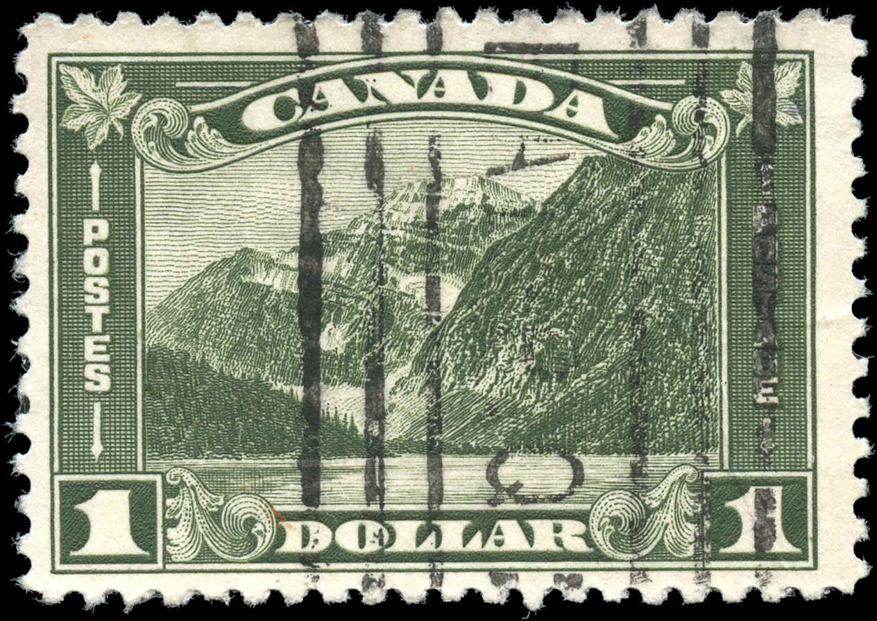 Canada #177, Arch/Leaf Issue, F-VF, Used