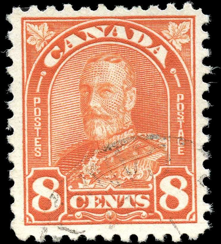 Canada #172, Arch/Leaf Issue, F-VF, Used