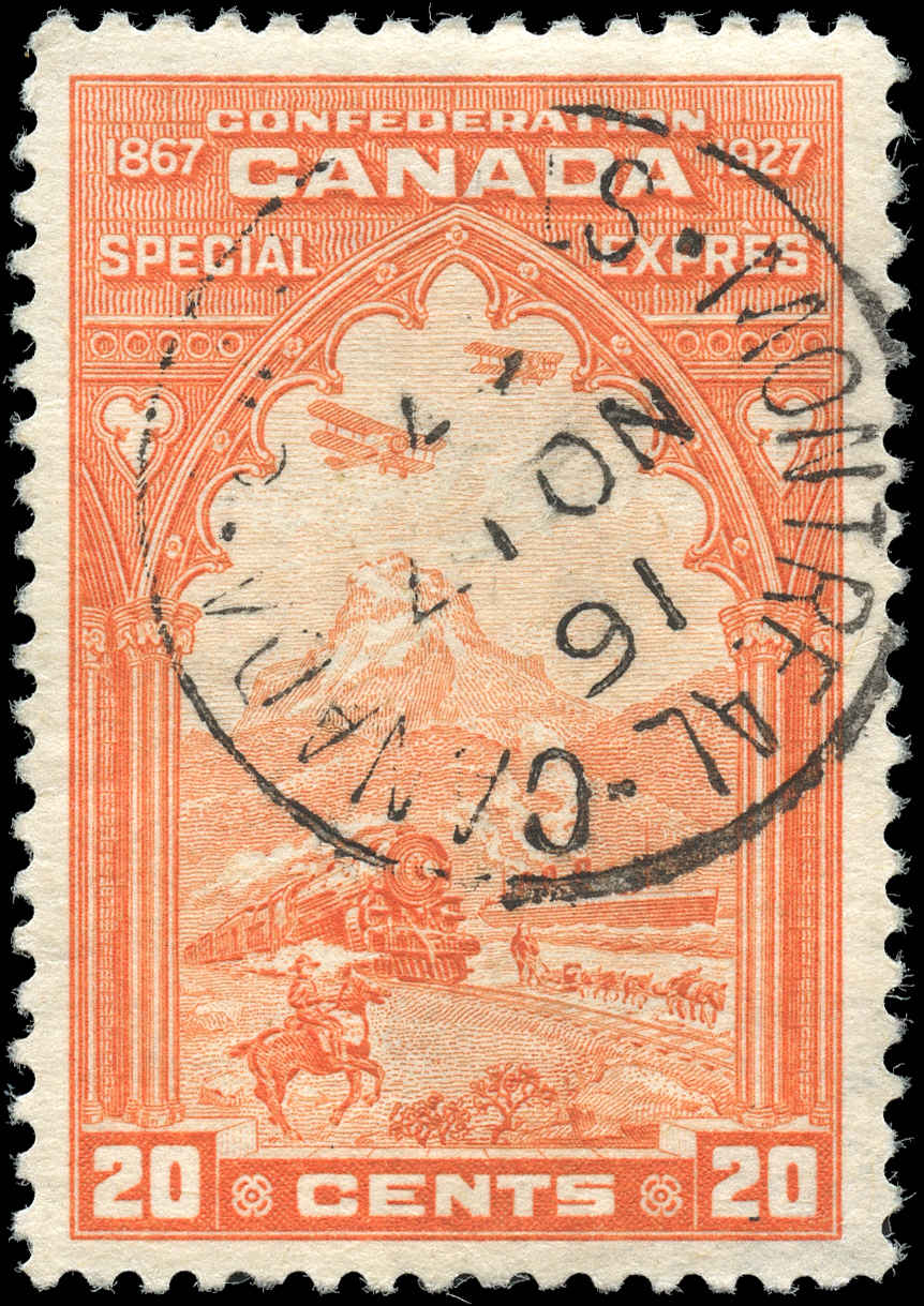 Canada #E3, Special Delivery Issue, VF, Used