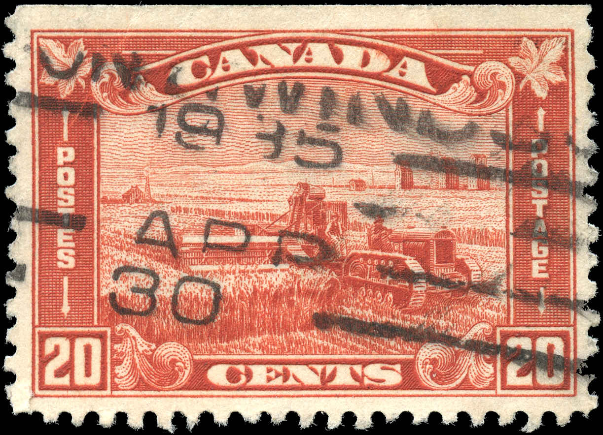 Canada #175, Arch/Leaf Issue, F-VF, Used