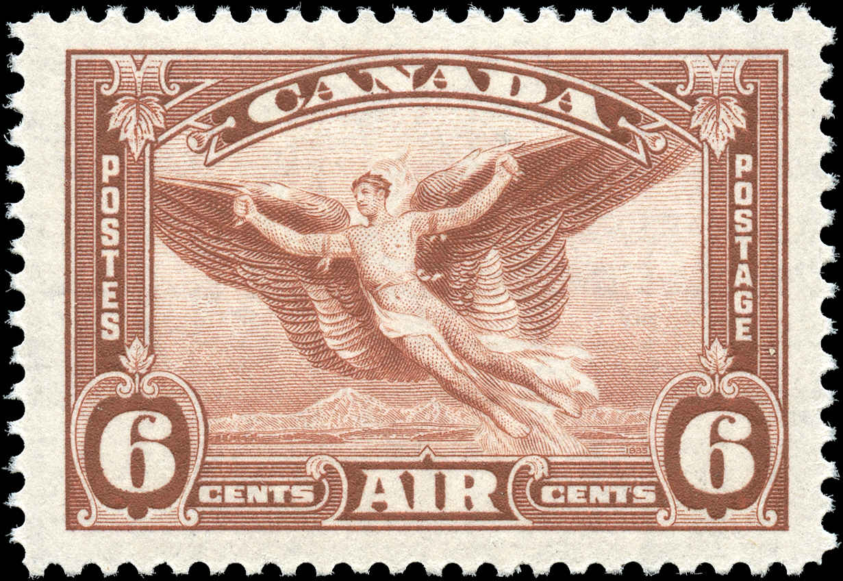 Canada #C5, Airmail Issue, F-VF, MH