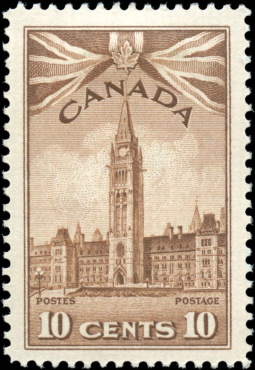 Canada #257, War Issue, F-VF, MH