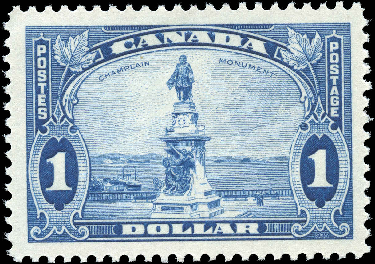 Canada #227, Pictorial Issue, VF, MH