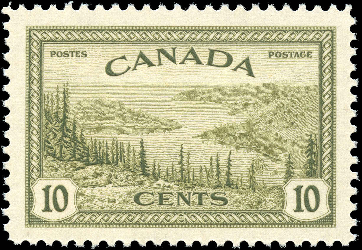 Canada #269, Peace Issue, VF, MNH