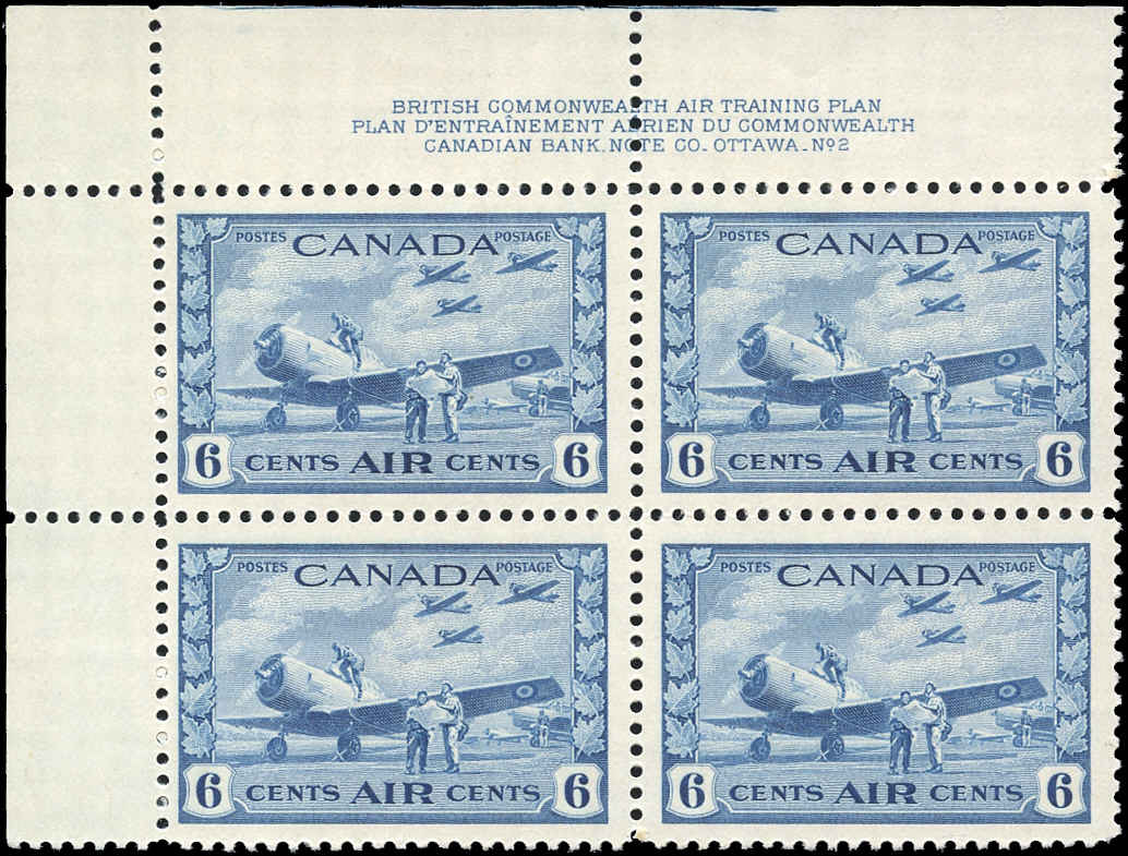 Canada #C7, Airmail Issue, F-VF, MNH