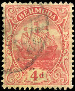 Bermuda Stamp, Scott ##46, F+, Used