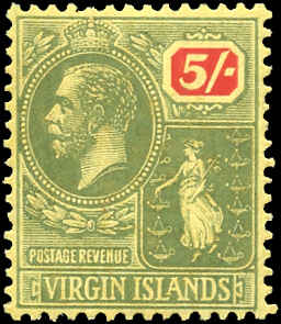 Virgin Islands, ##66, VF, MH