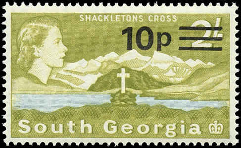 South Georgia, ##27, F-VF, MNH