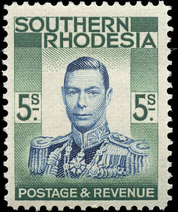 Southern Rhodesia, ##54, F+, MH