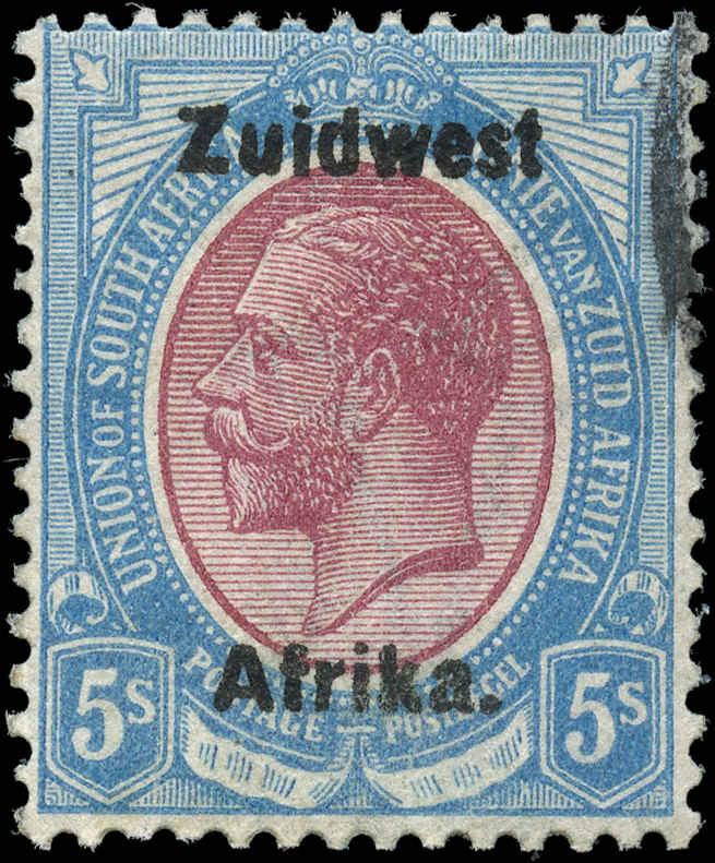 South West Africa, ##25b, F, Used