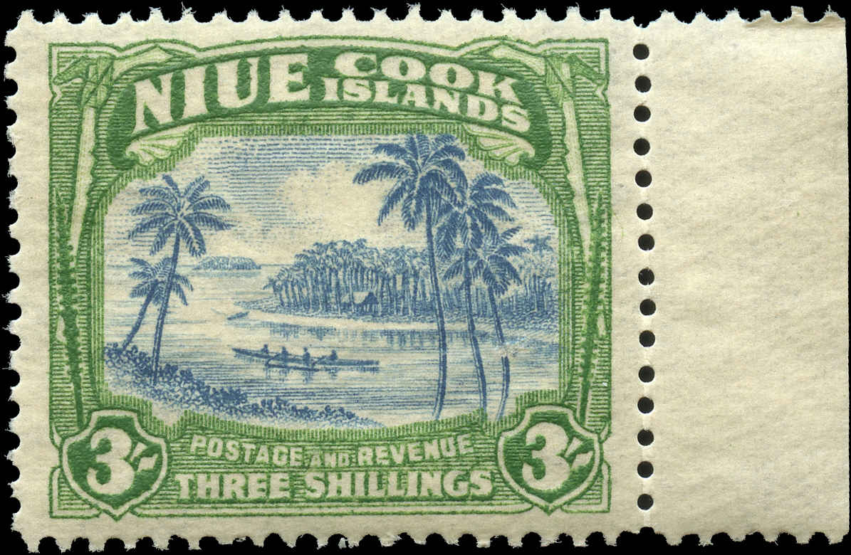 Cook Islands, #124, F+, MH