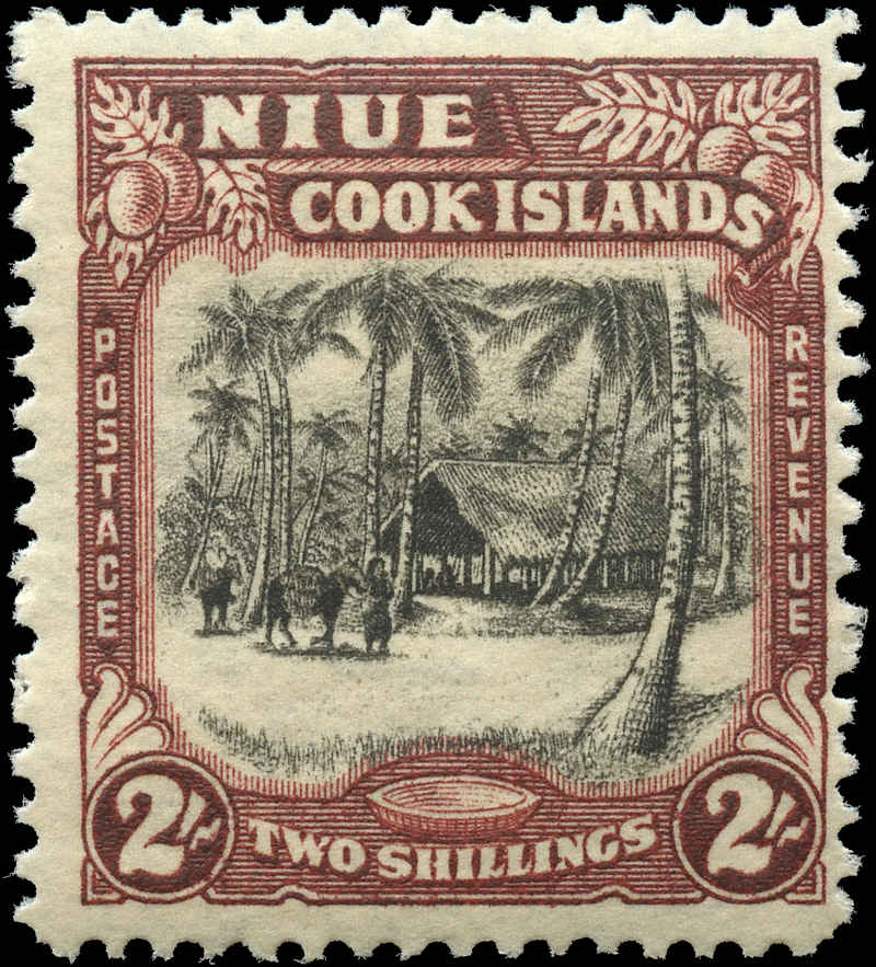 Cook Islands, #113, F+, MH