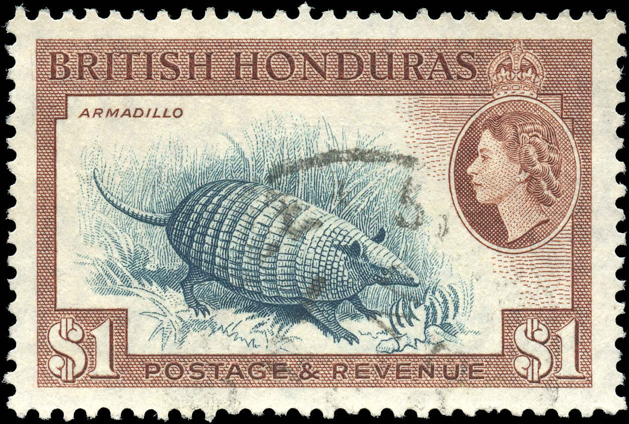 British Honduras, #153, VF, Used