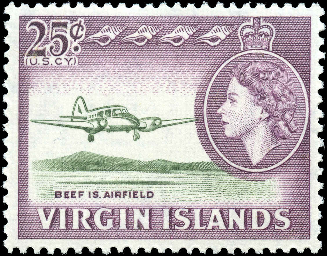 Virgin Islands, #154, F-VF, MH