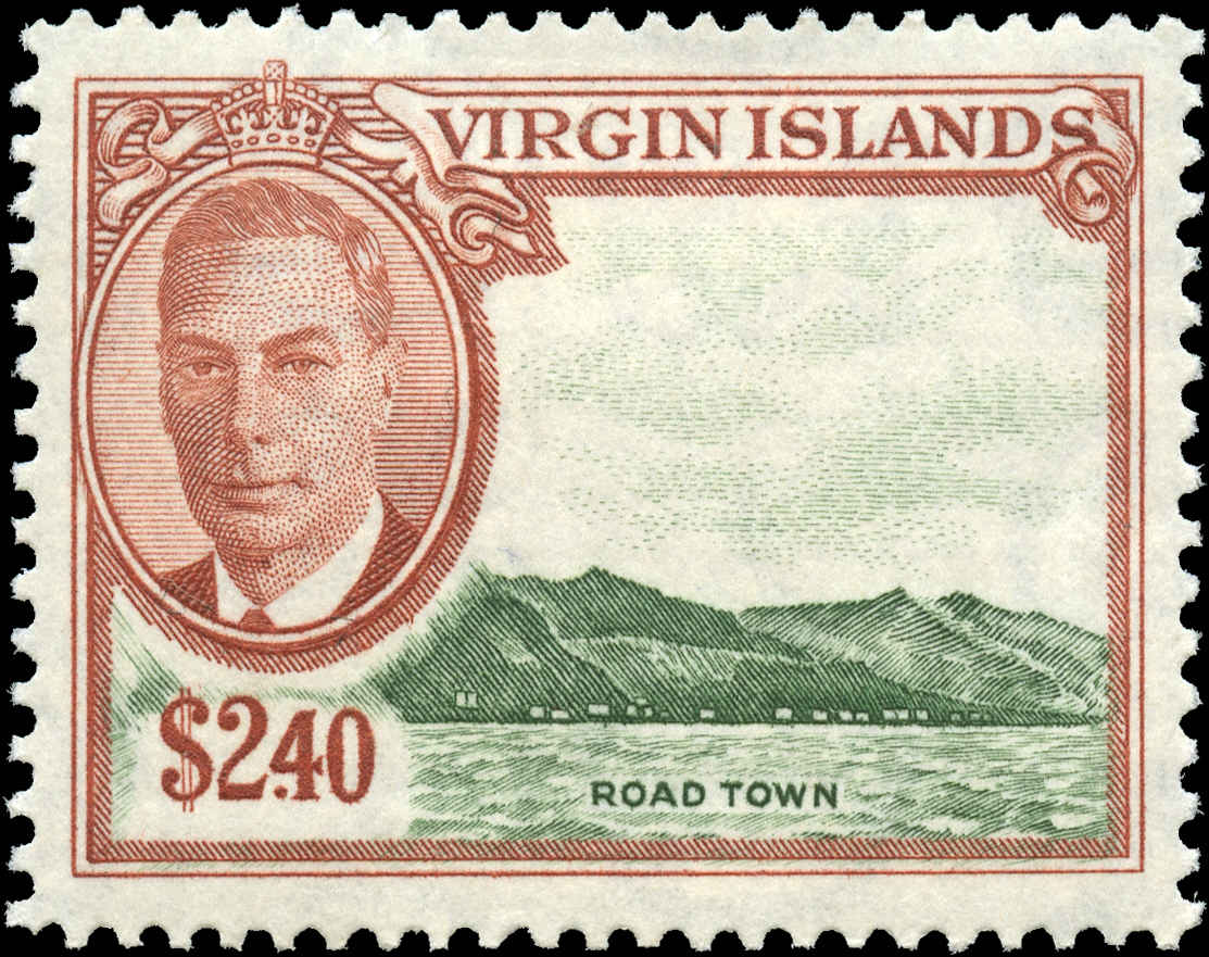 Virgin Islands, #112, VF, MH