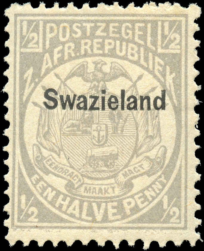 Swaziland, ###1, F-VF, MH