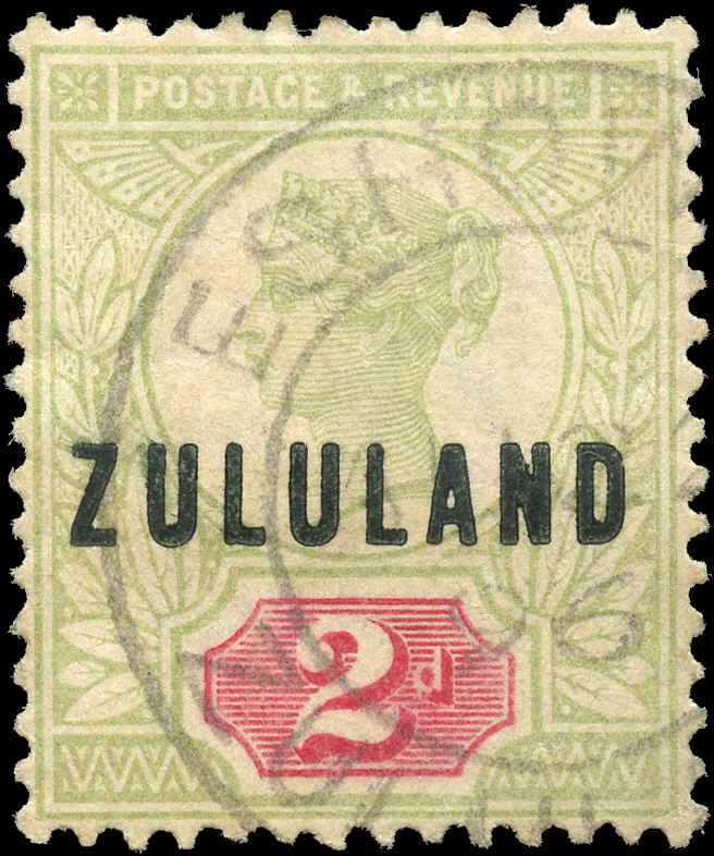 Zululand, ###3, F-VF, Used