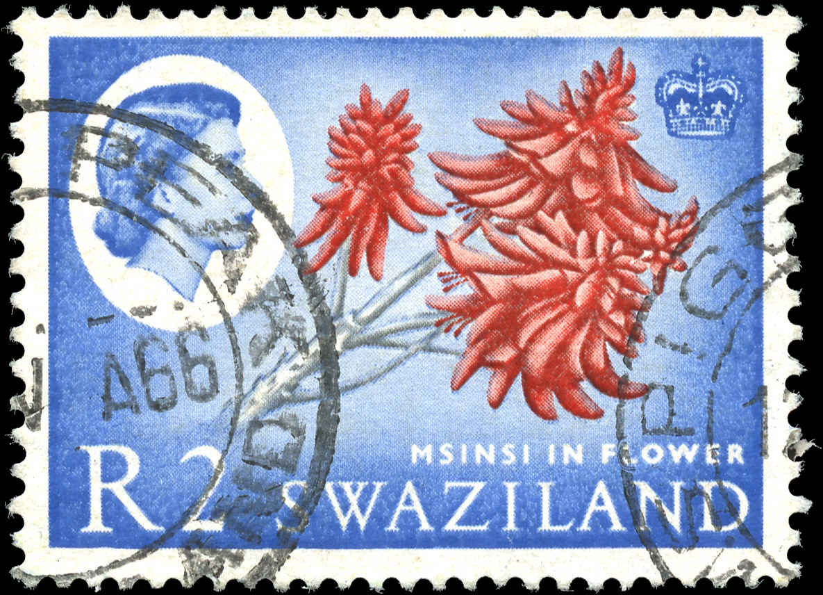 Swaziland, #107, F-VF, Used