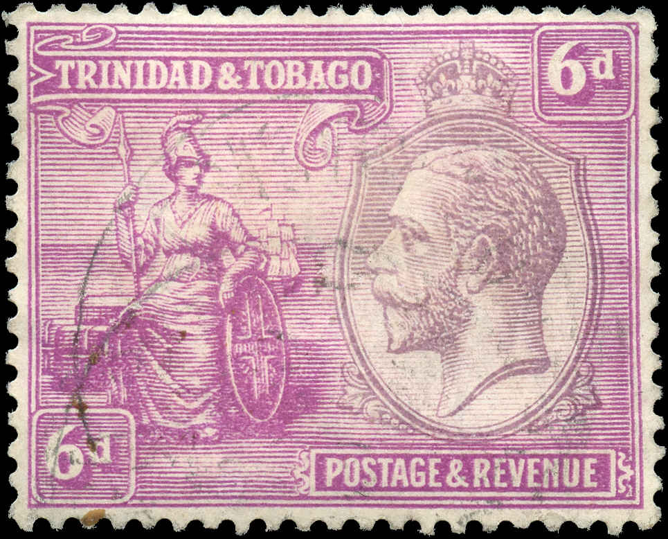 Trinidad & Tobago, ##27, F-VF, Used