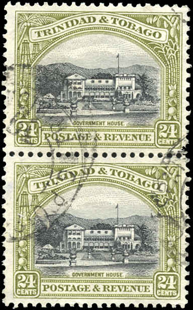 Trinidad & Tobago, ##40a, F-VF, Used
